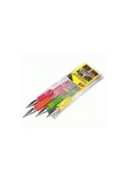 Długopis żelowy Fluo 4 kolory EASY
