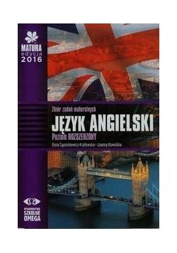 Matura 2016 Język angielski Zbiór zadań maturalnych + CD Poziom rozszerzony