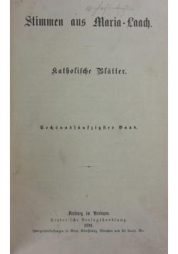 Stimmen aus Maria-Laach 56 band, 1899r.