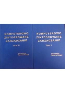 Komputerowo zintegrowane zarządzanie tom I i II