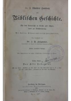 Biblilchen Selchichte, 1878r.