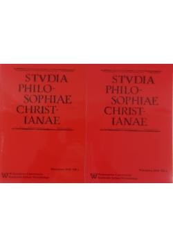 Stvdia Philosophiae Christianae nr 1 i 2