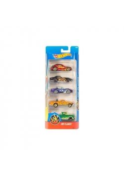 Hot Wheels Małe samochodziki 5-pak