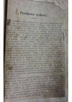 Książka do oświecenia i zbudowania duszy chrześcijańsko -katolickiej. ok 1894 r.