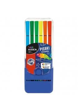 Pisaki w pudełku 12 kolorów KIDEA