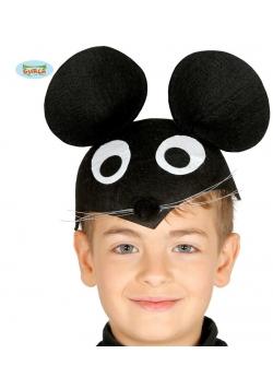 Dziecięca Czapka z Uszami Myszki