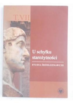 U schyłku starożytności, Tom VII