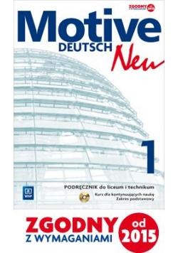 Motive - Deutsch Neu 1 ZP w.2015 WSiP