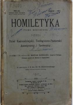 Homiletyka pismo miesięczne, 1912 r.
