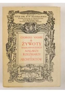 Żywoty najsławniejszych malarzy, rzeźbiarzy i architektów