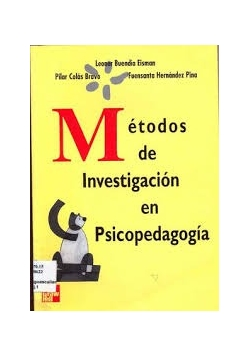 Metodos de Investigacion en Psicopedagogia
