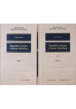 Rzymska krytyka i teoria literatury, tom I-II