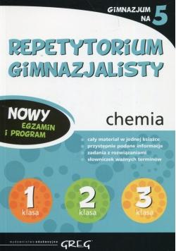 Repetytorium gimnazjalisty chemia Gimnazjum na 5