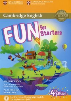 Fun for Starters Student's Book with Online Activities with Audio and Home Fun Booklet 2