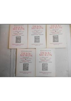 Dekameron, 5 książek