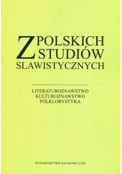 Z polskich studiów slawistycznych