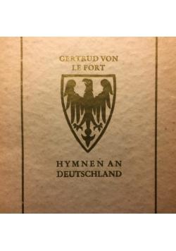 Hymnen an Deutschland