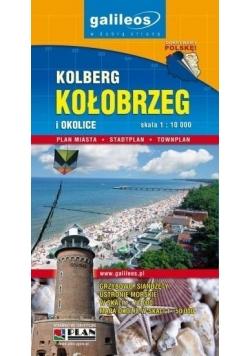 Plan miasta - Kołobrzeg i okolice 1: 10 000