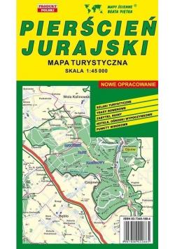 Pierścień Jurajski 1:45 000 mapa turystyczna