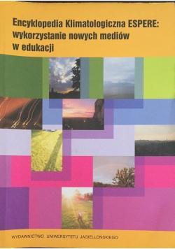 Encyklopedia Klimatologiczna ESPERE: wykorzystanie nowych mediów w edukacji