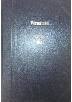 Deutsche Vornamen, 1909 r.