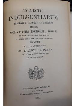 Collectio indulgentiarum, 1897 r.
