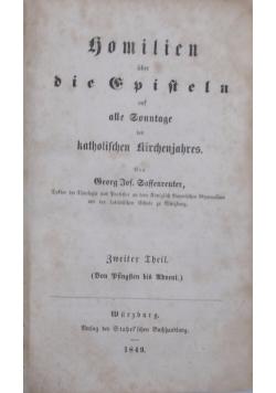 Hemilien uber die Episteln, 1849r