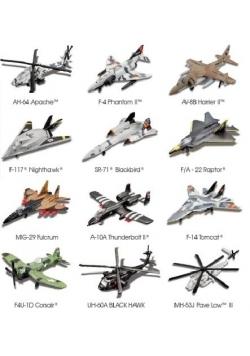 Samoloty wojskowe Forces Sky Squad rózne rodzaje