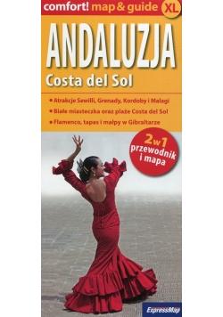 Andaluzja Costa del Sol 2w1 przewodnik i mapa