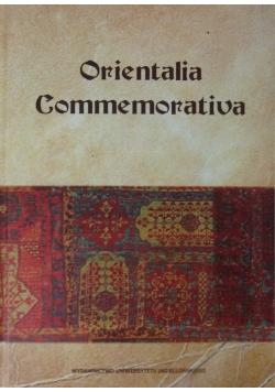 Orientalia Commemorations