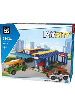 Klocki blocki MyCity Myjnia 584 elementy