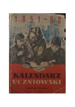 Kalendarz uczniowski 1951-52