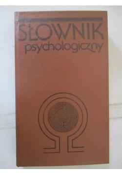 Słownik psychologiczny