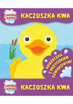 Książeczka kąpielowa - Kaczuszka kwa