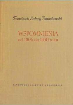 Wspomnienia od 1806 do 1830 roku