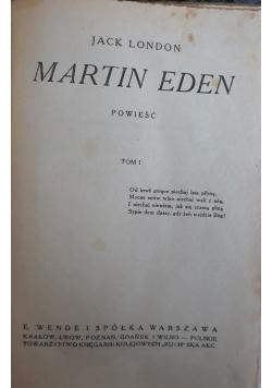 Martin Eden tom 1, 1920 r.