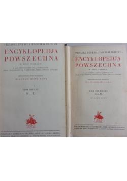 Encyklopedia powszechna, Tom I-II, ok. 1927r.