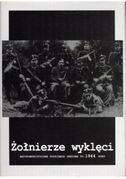 Żołnierze wyklęci - antykomunistyczne podziemie zbrojne po 1944 roku
