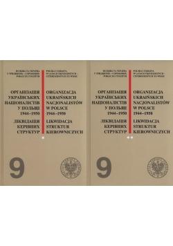 Organizacja Ukraińskich Nacjonalistów w Polsce w latach 1944-1950. Likwidacja struktur kierowniczych