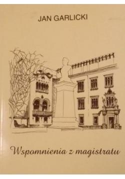 Wspomnienia z magistratu (1935 - 1987)