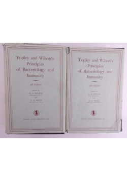 Topley and Wilson's Principles of Bacteoriology and Immunity part I-IV