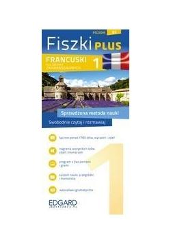 Francuski Fiszki Plus dla śred. zaaw. 1
