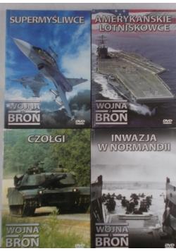 Wojna i broń, zestaw 4 płyt DVD