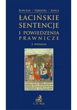 Łacińskie sentencje i powiedzenia prawnicze`