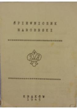 Śpiewnik harcerski,  1945 r.