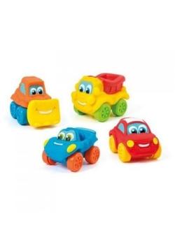 Mięciutkie samochodziki różne rodzaje