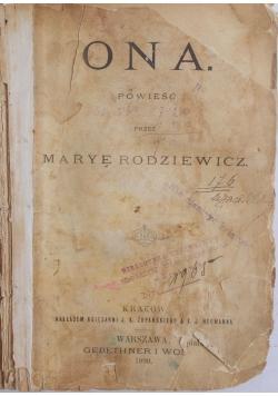 Ona , 1890 r.