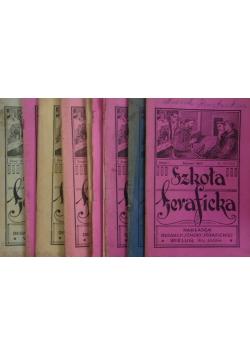 Szkoła Seraficka, 8 zeszytów, 1929r.