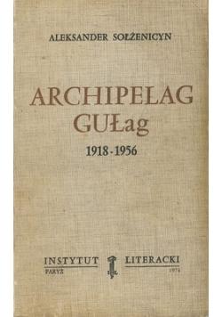 Archipelag Gułag, 3 tom.