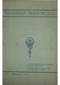 Thuringia franciscana, 1934r.